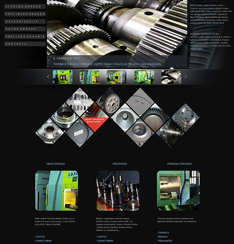Tvornica plinskih turbina